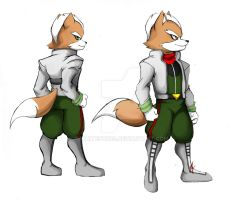 Fox McCould commission by WhiteFox89
