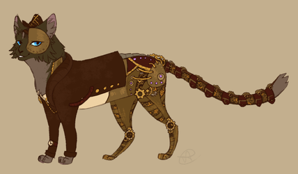 Steampunk AU. Briarlight by SsilverBeeze
