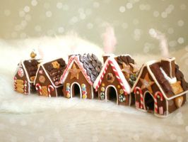 :: Gingerbread Village :: by vesssper