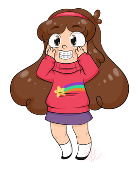 Chibi Mabel by SmallHoot