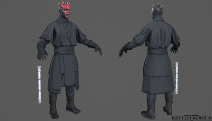 Star Wars Battlefront 2 - Darth Maul by Crazy31139