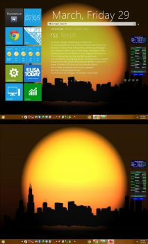 Rainmeter Toggle On Off 1.0  Show Hide by KeybrdCowboy