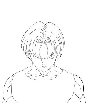 Trunks from Dragon Ball Z by greeeed