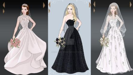 Wedding Dress Designs of Famous People by nickelbackloverxoxox
