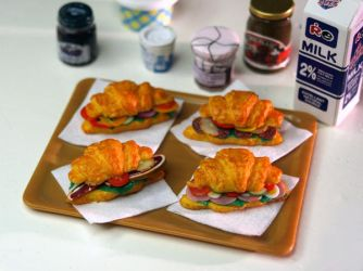 Miniature Croissants by ChocolateDecadence