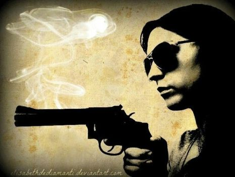 Smoke on my Gun by ElisabethDeDiamanti