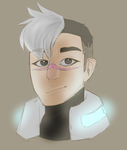 All mighty father Shiro by TropicaIDeer