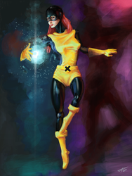 Jean Grey by HarlequiNQB