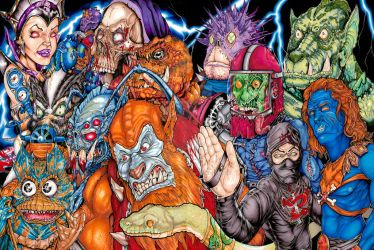 MOTU Monsters! by MarshallAttacks