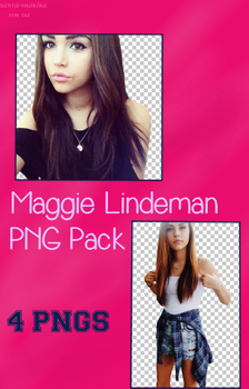 Maggie Lindemann PNG Pack - 4 PNGs by santa-shakira