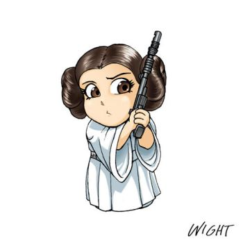 P is for Princess by joewight