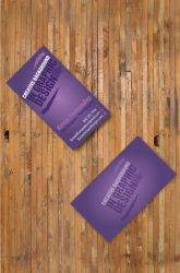 Final Business Cards by NikonD50