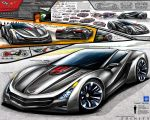 Corvette Trinity Supercar Design Concept by toyonda