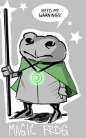 Magicfrog by wildcats25