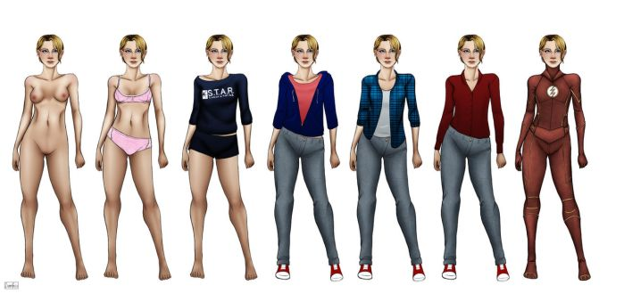 The Flash . Outfit Meme by ZpanSven
