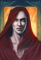 The Tempered Steel cover. Maedhros by the-ALEF