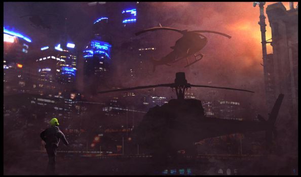 Speed Painting-Take-Off by FreeMind93