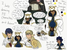 Fire Emblem Heroes (Sketchdump) by PsiioniicHearts