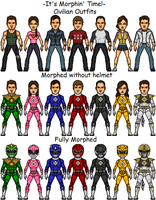 Mighty Morphin' Power Rangers of Deviantart.com by SpiderTrekfan616
