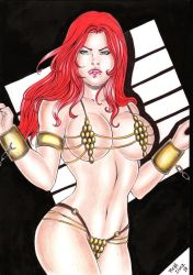 Red Sonja by RuthLimaart