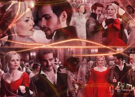 Prince Charles and Princess Leah by Elaine-captain-swan