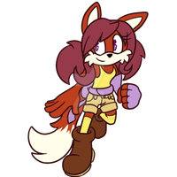 CeCe the Fox by halfway-to-insanity