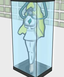 Lusamine In Stasis by DungeonKappa