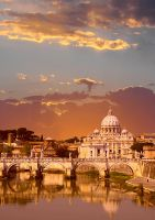 Sunset Vatican by abey79
