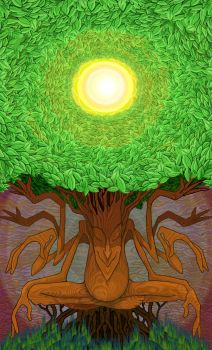 Tree Shiva by Gnomosapien