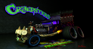 The Fuglies Present Creepsters' Hearse by JWraith