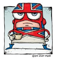 Captain Britain by stuartmcghee