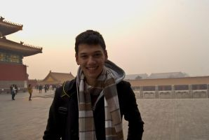 My Martyla at the Forbidden City by lilmoz