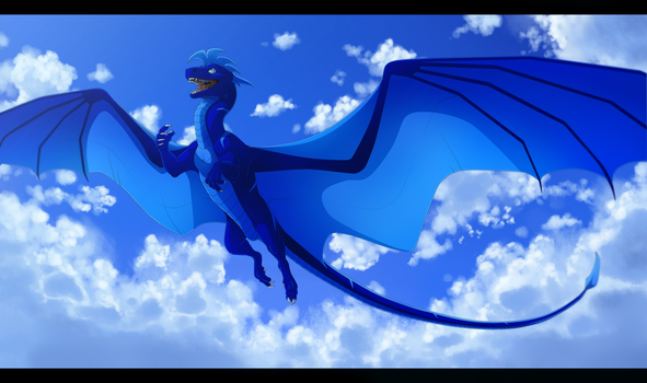Skies of Blue by Kelskora