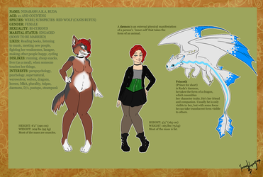 Official reference sheet by RudaWilczyca