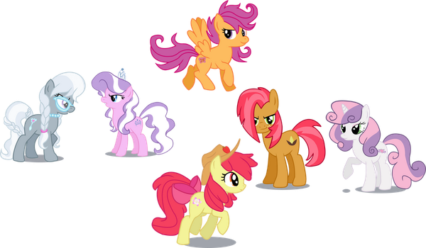 MLP - All grown up by schnuffitrunks