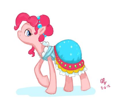 Concept Dress Pinkie by Ellybethe