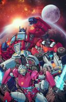The Transformers #28 Cover (Unofficial) by LiamShalloo
