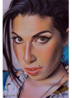 Amy Winehouse by sandritta88
