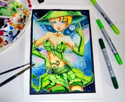 Witch Tinkerbell by Lighane