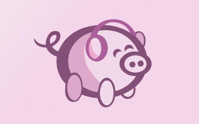 OiNK Piggy Set: 1440x900 by OiNKmemorial
