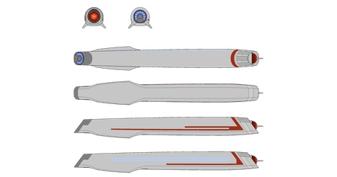 Alternate DIS style nacelle by Terranimperial