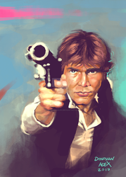 Han Solo by donovanalex