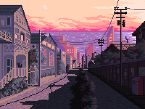 Late Afternoon by 5ldo0on