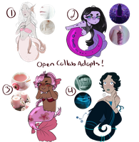 Mermaid Adopt Batch (4/4 OPEN) 400 Points by All-The-Fish-Here