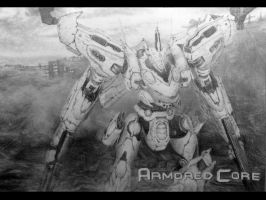 armored core white glint by mlvnsnmgl