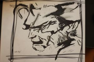 Solid Snake by natalied2012