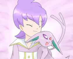 Anabel and Espeon