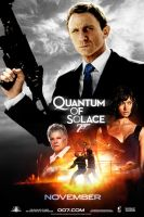 ''Quantum of Solace'' poster by AndrewSS7