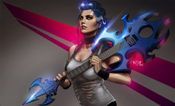Alyssa White-Gluz by Arkenstellar