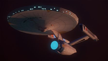 Constitution Class by Lt-Commander